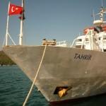 Kanadská loď odplouvá z tureckého přístavu
